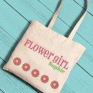 Personalized Girl Canvas Tote - 6 Image Choices