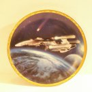 Star Trek Voyagers Plate - Triple Nacelled U.S.S. Enterprise Plate No 2230D 1994