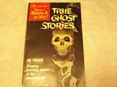 Ripley's Believe it or Not! True Ghost Stories Golden Press 1979