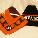 Cleveland Browns Hat and McDonald's Brown's Flag