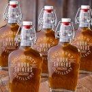 Set of 5 Glass Flasks - Free Personalization