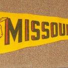 Missouri Vintage Green Pennant