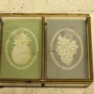 Hallmark Playing Cards - 2 Decks in Glass Case - Nice