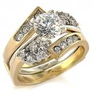 CZ WED 3 Wedding/Engagement Ring