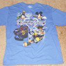 Disney Kingdom Hearts Blue Shirt - Size Large