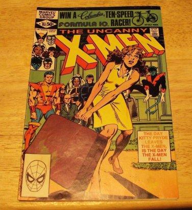 MARVEL THE UNCANNY X-MEN # 151 1981 1ST SERIES