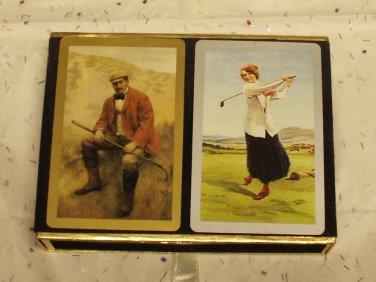 Congress Playing Cards - Golfers - 2 Decks