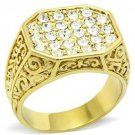 Gold Lust Crystal Ring