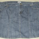 L.A. Blues Jeans Skirt Size 26W