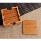 Bamboo Coaster Set - Free Personalization