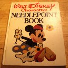 Walt Disney Characters Needle Point Book 1976