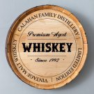 Whiskey Barrel Signs - Free Personalization - 7 Choices