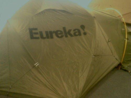 & Eureka K-2 XT (K2) Expedition Tent - Green Color - NEW