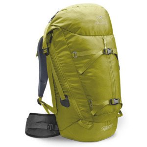 Arc'teryx Miura 50 Backpack - Lime, Short