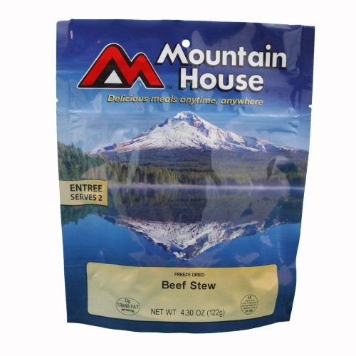 Mountain House Hearty Beef Stew Freeze Dried Meal 4.30oz