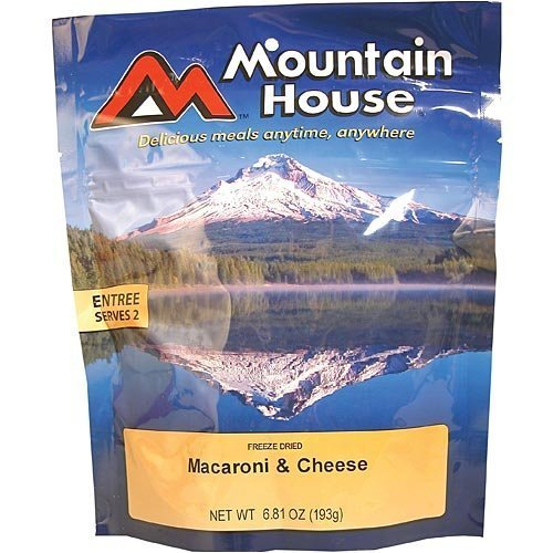 Mountain House Macaroni & Cheese Freeze Dried Meal 6.81oz
