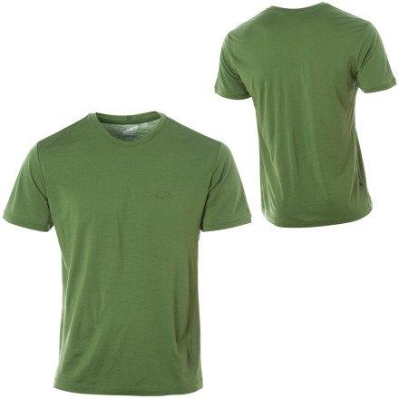Icebreaker SuperFine 140 Tech T Lite Shirt - Short-Sleeve - Men's Large - Jungle