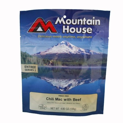 Mountain House Chili Mac with Beef Freeze Dried Meal 4.80oz