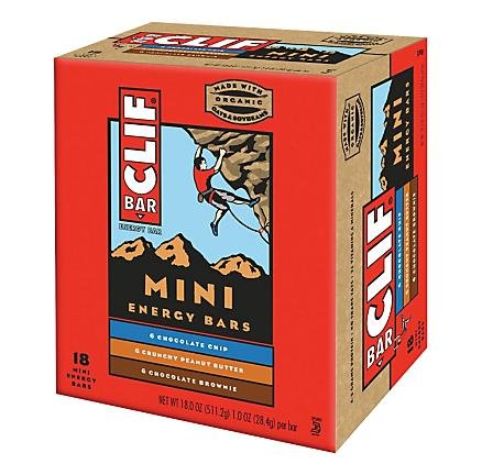 Clif Bar Mini Energy Bars - 18 Pack 18oz