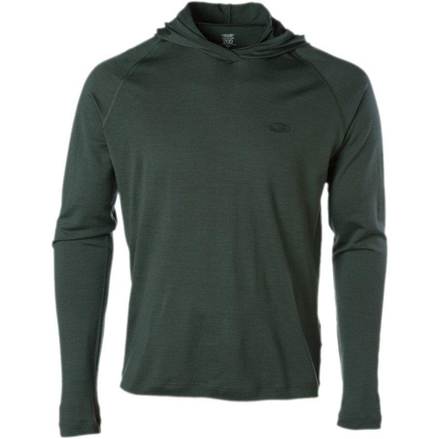 Icebreaker Superfine 200 Hooded Sweatshirt - Men's Medium Merino Hoody
