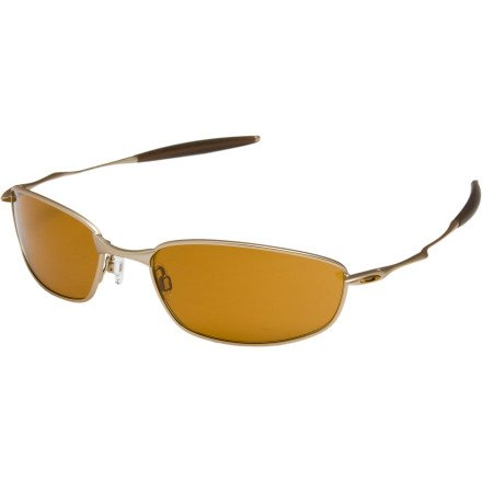 Oakley Whisker Sunglasses - Platinum/Bronze