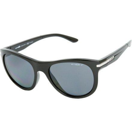Arnette Blowout Sunglasses - Polarized - Black/Grey