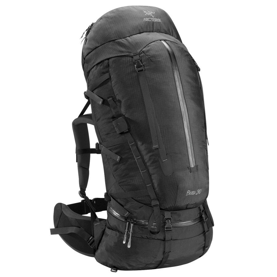 Arc'teryx Bora 80 Backpack - Tall, Black