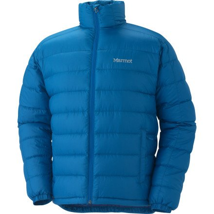 Marmot Zeus Down Jacket Mens XL, Vapor Blue