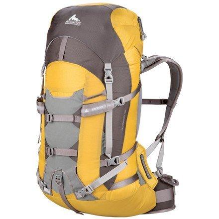 Gregory Alpinisto 50 Backpack, Large, Arnica Yellow