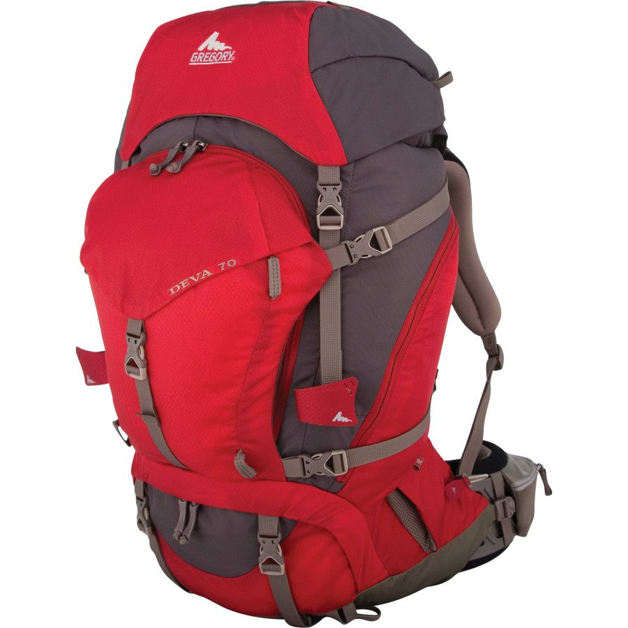 Gregory Deva 70 Backpack Womens Medium - Beta Red