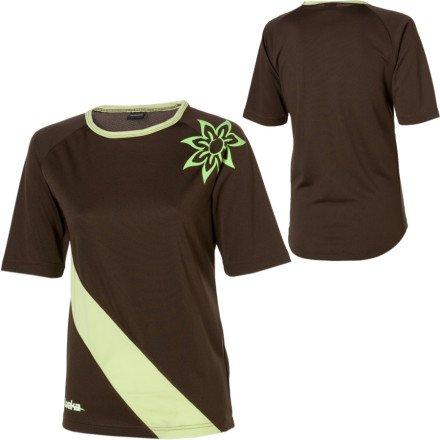 Loeka Bike Jersey - 1/2-Sleeve - Women's XS, Mint Chocolate Chip