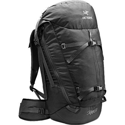 Arc'teryx Miura 50 Backpack - Tall, Black