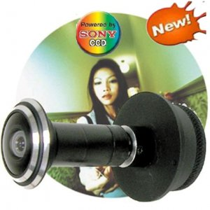 Newwest Super Wide Angle Sony CCD Door Video Peephole Cameras