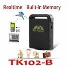 TK102-B Quad band Car GPS Tracker Personal GPS Tracking with 1GB Memory