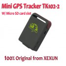 Mini Realtime GSM GPRS GPS personal/vehicle Tracker Tracking Device TK102-2