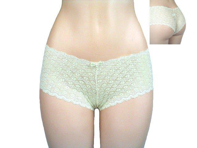Belabumbum Copacabana all Lace Boyshort Panties Large