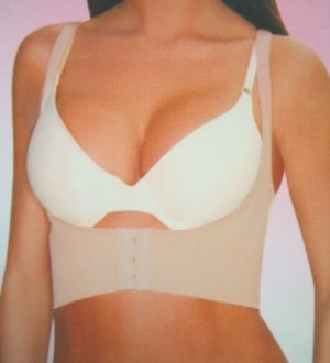 F.I.T Rene Rofe Cleavage Enhancer Push-up Shaper XL Nude