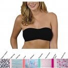 New FASHION FORMS Cotton Removable Pad Wireless Bandeau Top S M L XL