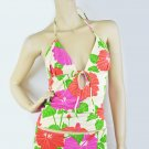 $70 New VICTORIA'S SECRET Zimmermann Groovy Bikini Halter Top Swimwear 10 M