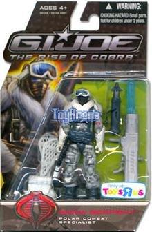 G.I. JOE Toys 'R' Us Exclusive Snow Serpent MOC