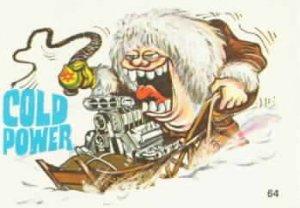 Fabulous odd rods sticker-Cold Power-#64