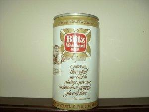 BLITZ WEINHARD BEER can-Blitz Wienhard Co. Portland Or-Punch Top