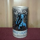 SCHLITZ MALT LIQUOR BEER can-Jos. Schlitz Milwaukee, Wis. Tamps, Fl. Los Angeles-Tab Top