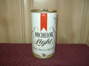 MICHELOB LIGHT BEER can-Anheuser Busch-St. Louis, Mo-Sta Tab