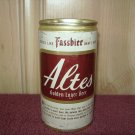 ALTES GOLDEN LAGER BEER can-National Brewing Co. Baltimore, Md. Miami, Phoenix -Tab Top