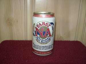 PABST NA BEER can-Pabst brewing co. Milwaukee, Wis. Sta Tab