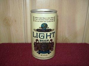 SCHLITZ LIGHT BEER Can-Jos Schlitz Brewing Co. Tab Top