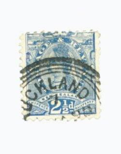 New Zealand Scott #68 Used Stamp