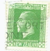 New Zealand Scott #144 Used Stamp