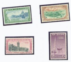 New Zealand Scott #269-72  4 vars. MNH Stamp